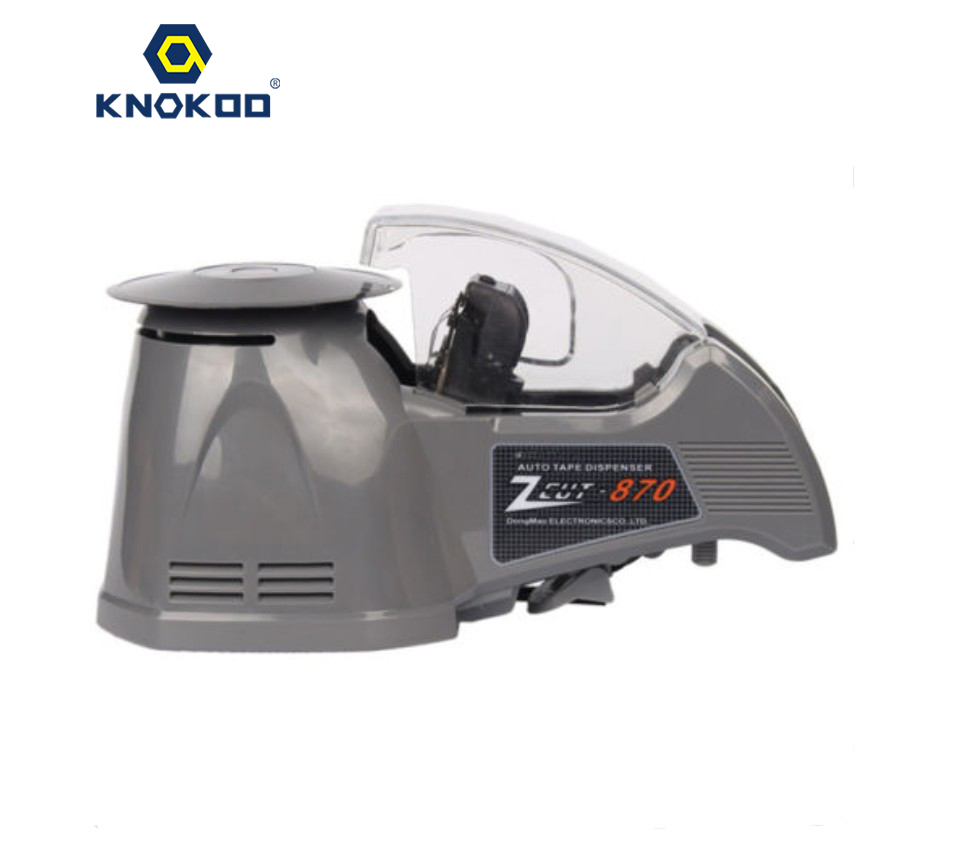 KNOKOO ELectronic Automatic Packing Tape Dispenser ZCUT-870 Tape Cutter Machine automatic tape dispensers electric tape dispensers automatic tape cutter machines automatic tape dispensing machines