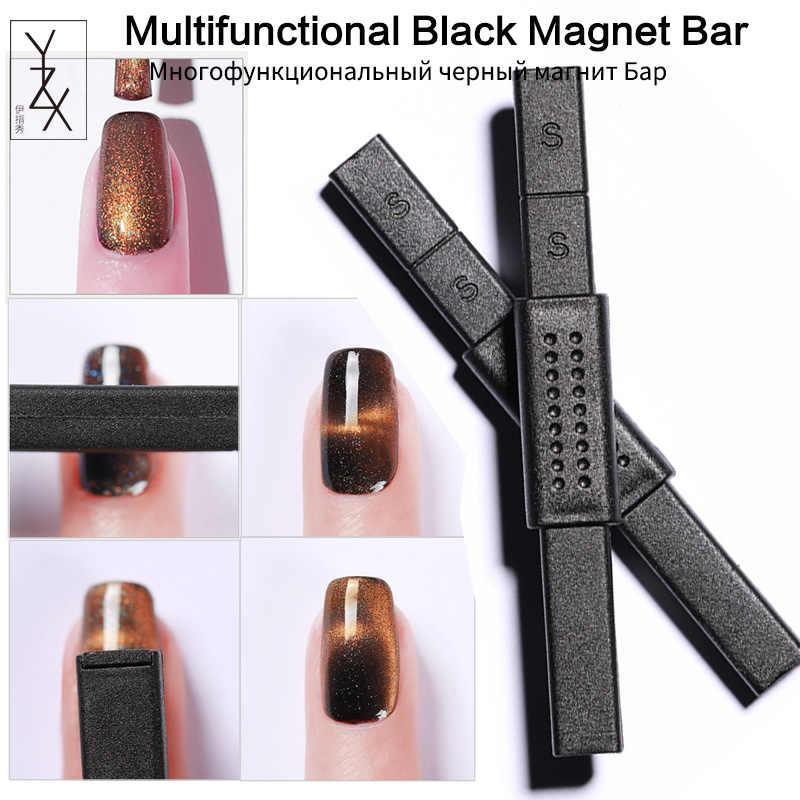 YZX 1 Pcs Unghie artistiche Multifunzione Nero Bastone Magnetico Magnete Bordo Per 3D Effetto Occhi di Gatto Lampada UV Vernice Del Polacco del Gel manicure Strumento