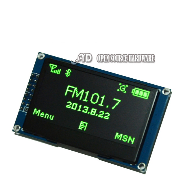 Authentic 2.42 inch OLED display 12864 LCD display device Providers schematics