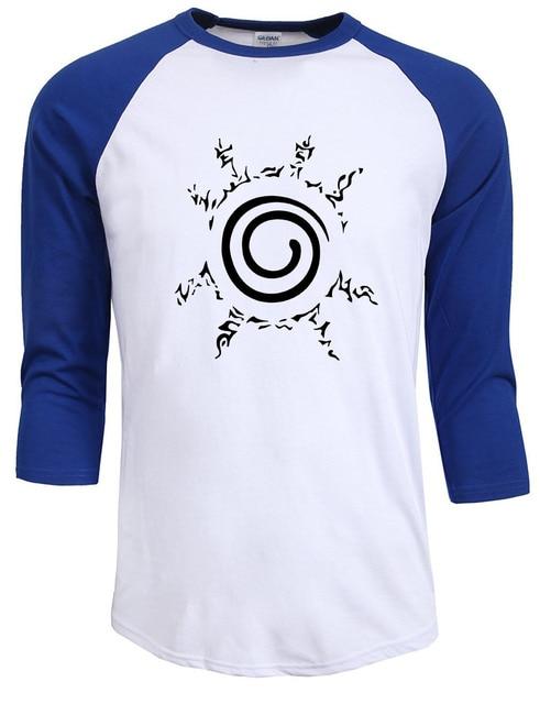 Naruto Print Men T shirt