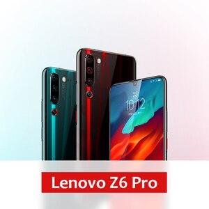 "Image 3 - Global ROM Lenovo Z6 Pro 6GB 128GB Smartphone Snapdragon 855 Octa Core 6.39"" 1080P Display Fingerprint Rear 48MP Quad Camera"