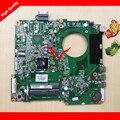Original para hp pavilion 15 15-n series 734826-501 cpu placa madre del ordenador portátil mainboard a4-5000 da0u93mb6d0