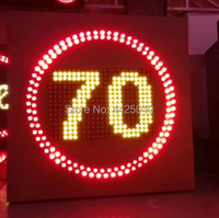 LED traffic signage  30 /40 /50 /60/ 70 /80 /100 /110/120 LED traffic speed limit sign  LED highway speed limit