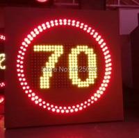 Led 교통 간판  30/40/50/60/70/80/100/110/120 led 교통 속도 제한 기호 led 고속도로 속도 제한