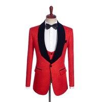 Куртка с принтом для 2 Цвет человек пальто для мужчин одежда индивидуальный заказ Человек Куртка портной костюм Блейзер 1PSc Шаль Нагрудные