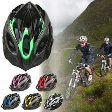 Unisex 6 Colors Bicycle Helmets Matte Black Men Women Bike Helmet Mountain Road Integrally Molded Cycling