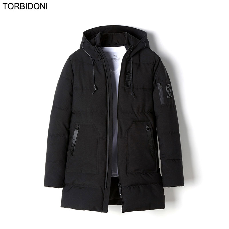 2017 New Winter Jacket Men Brand Clothing Casaco Masculino Cotton-padded Thick Long Coat Male Top Quality Fashion Parkas Jaqueta