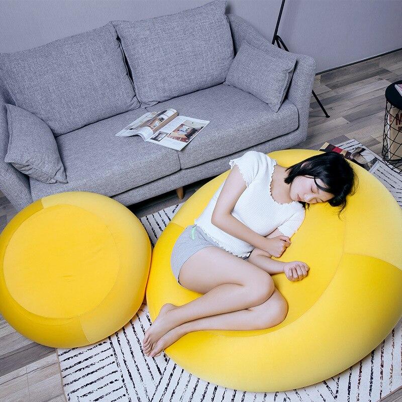 Pouf chaise paresseux canapé mode créativité multifonction totoro sac enfants canapé chambre balcon simple tatami canapés totoro lit