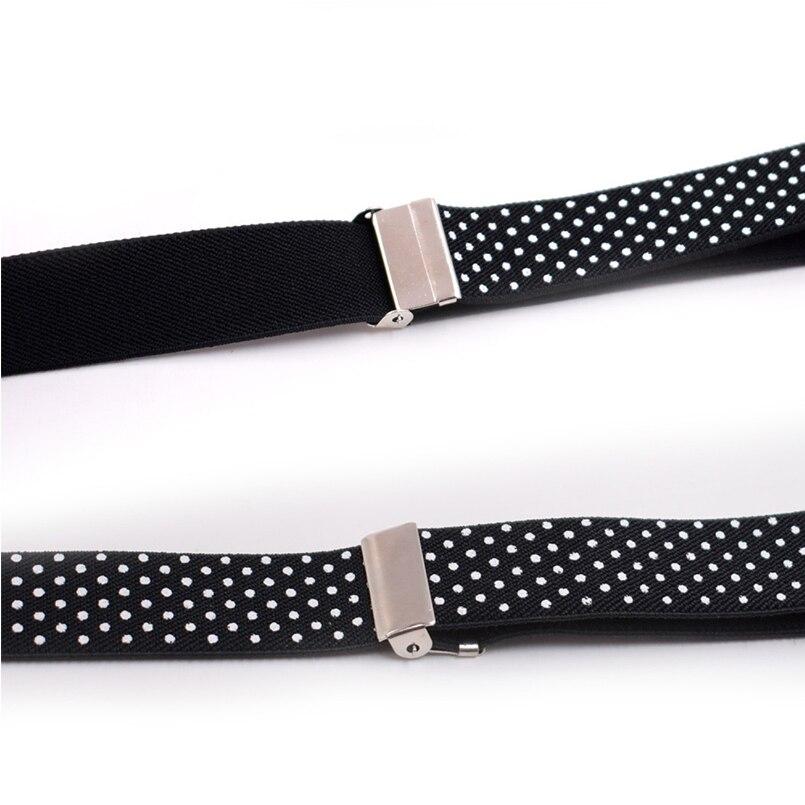2018 Suspenders and Bow Tie Set Braces Elastic Y-back for Children Kids Wedding Lovely Suspenders Bowties