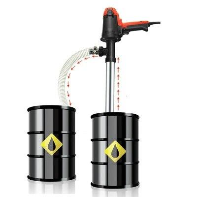 Pompe à tambour électrique Portable Portable 220 V pompe à godet pompe Diesel pompe à ventouse lubrificateur/outil d'extraction de liquide