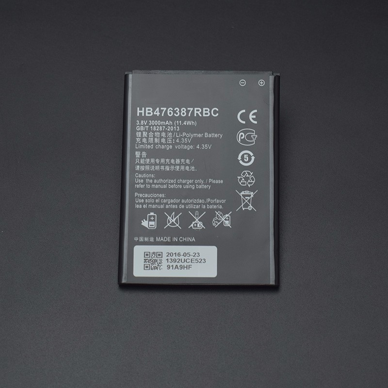 For Huawei honor 3X battery 100% New 3000mAh Battery Replacement for Huawei honor 3X G750 B199 cellphone+In Stock+