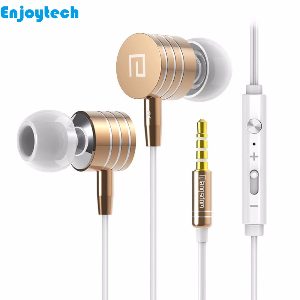 New arrival Wired earphone With Microphone HD Stereo In ear Handsfree Earbuds Headset For Iphone Samsung Huawei Xiaomi lenovo