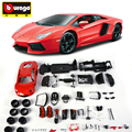 Bburago 1:18 DIY METAL KIT - Aventador LP700 -4 - The Fast The Furious 7 die-cast model cars