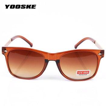 YOOSKE Vintage Men's Women's Sunglasses Male Female Sun Glasses Fashion Feminine Masculine Goggle 4