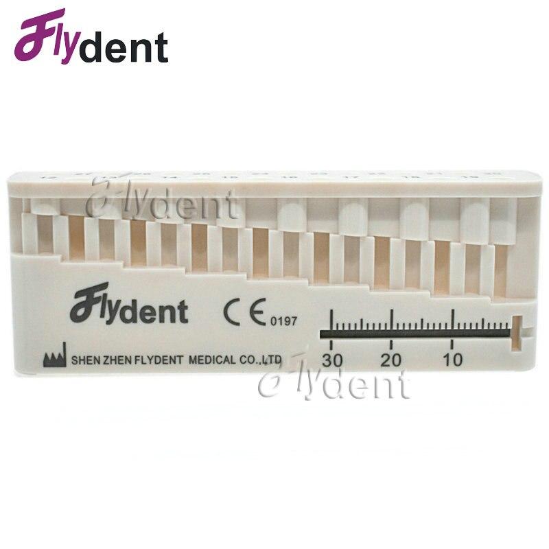 1 Pc Dental Autoklavierbar Stehen Herrscher Zahnarzt Instrument Herrscher Produkte Ausrüstung Mini Mess Block