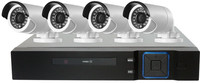 4CH CCTV System 1080N HDMI DVR 4PCS 1080P IR Outdoor Camera