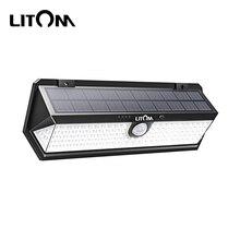 Litom CD196 Solar Light Outdoors Motion Sensor Night Securit