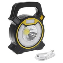10W USB Rechargeable COB Work Light Portable LED Floodlight Outdoor Lantern Camping Flashlight