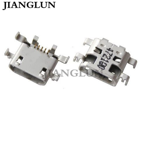 JIANGLUN New Micro USB Charging Port DC Socket For LENOVO IdeaTab A8-50 A5500 A5500H A5500-F 8
