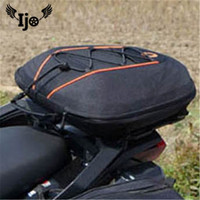 bolso sacoche mochila maletas moto for benelli honda sportster givi dain motorcycle saddlebag luggage Back Seat tail saddle bags