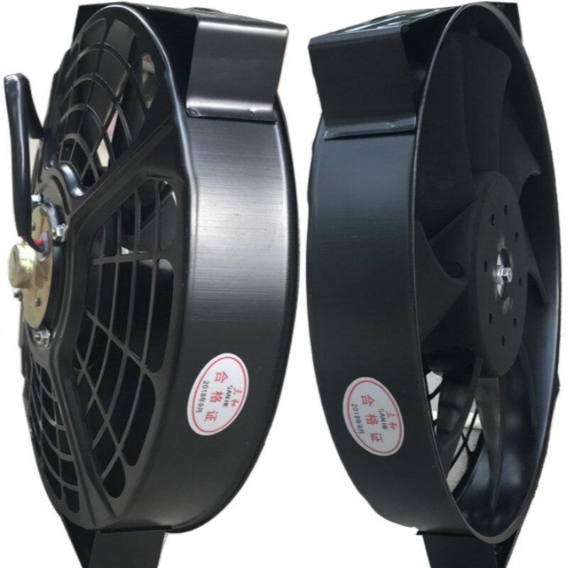 UNIVERSAL 80w 6inch 7inch 8inch 9inch 10inch 12inch 13inch motorcycle truck car 24V 12v fan radiator fan cooling auto fan