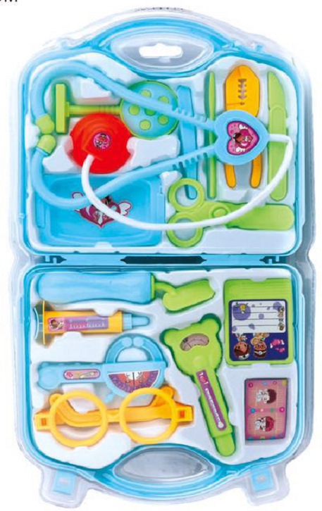 Children 39 s doctor toy set stethoscope boy girls play house simulation simulation injection medical kit in Doctor Toys from Toys amp Hobbies