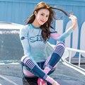 SABOLAY Koreanische version tauchen anzug Surfen kleidung Wasser Sport quick dry badeanzug hosen Frauen strand Bademode UV schutz-in Ausschlagsweste aus Sport und Unterhaltung bei