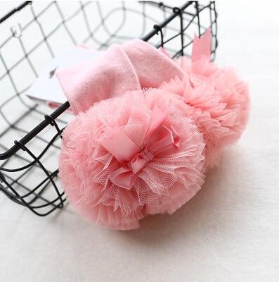 2019 Spring new children's tube socks girls in tube socks infant cotton sweet gauze lace bow princess socks 4