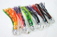 6.5 inch Octopus Lure Double Octopus Skirt Resin Head With Hook Line Fishing Tackle Suit Cheap Fishing Package