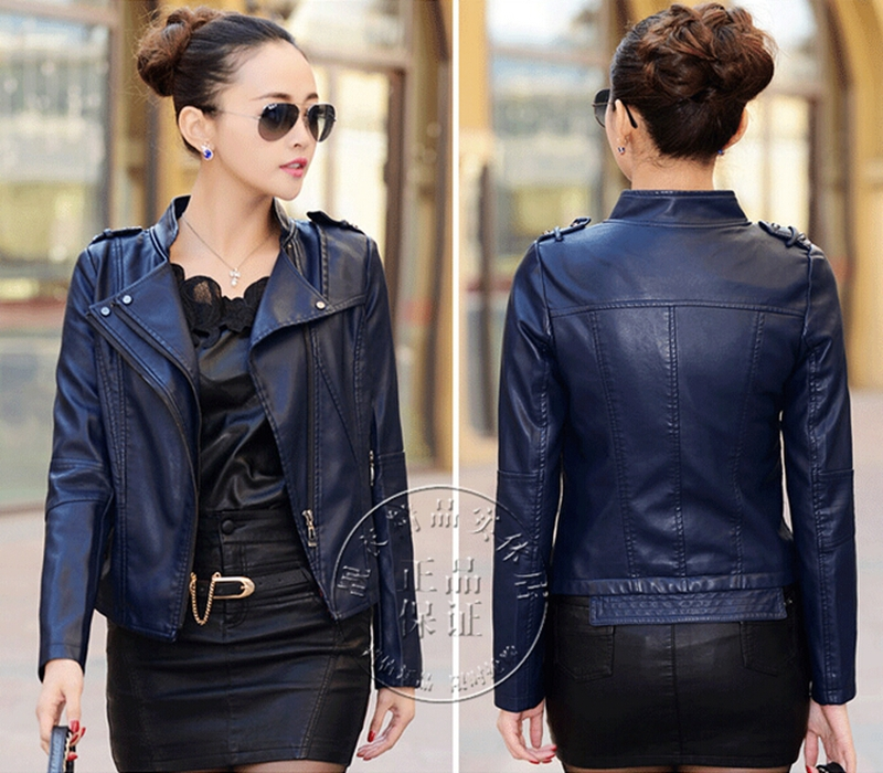Collection Women S Short Leather Jacket Pictures - Reikian