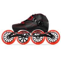 100% Originale Bont Enduro 3PT Velocità Pattini In Linea Pattini Heatmoldable In Fibra di Carbonio Boot S-frame7 G16 100/110mm Ruote Pattinaggio patines