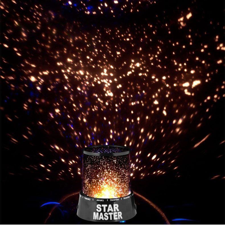 Star Mater Night Light Sky LED Projector Mood Lamp Kids Bedroom TN88