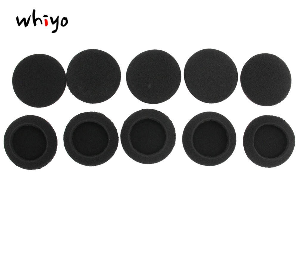 Earpads Ear Cushions Replacement Foam Covers Earmuffs for Sennheiser PMX 60 Headset PMX60 Ear Pads Headphones Black Leather