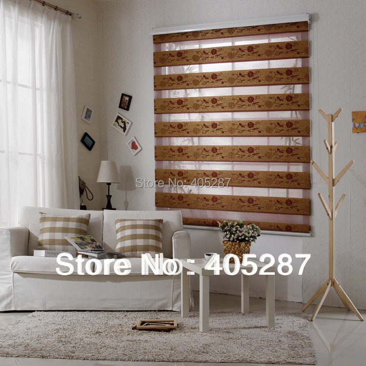 Time Limited Seconds Kill Freeshipping Plain Blinds Rainbow Blinds Roller Silk Jacquard Soft Gauze