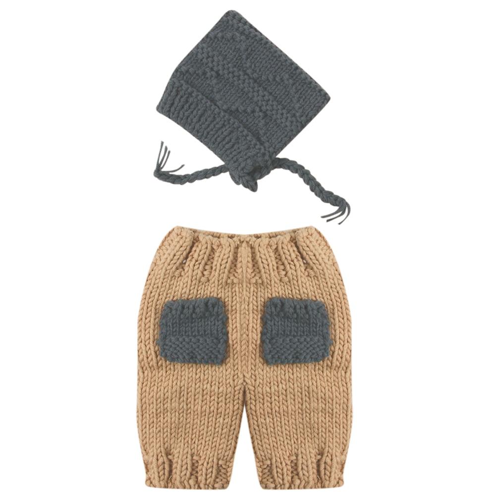 웃 유Bebé recién nacido crochet knit traje foto fotografía ...
