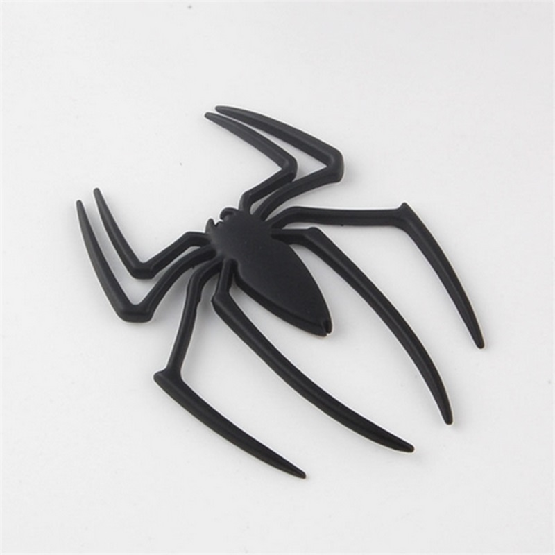 BBQ@FUKA Car-Styling Metal Sticker Spider Shape Emblem Logo Motorcycle Decal accessories Fit For BMW VW Ford Toyota Honda ect стоимость