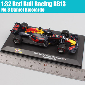 Image 2 - 1:32 BBurago Red Bull Racing RB13 No.3 Daniel No.33 racer Diecasts & Toy Vehicles miniature model scale cars kids