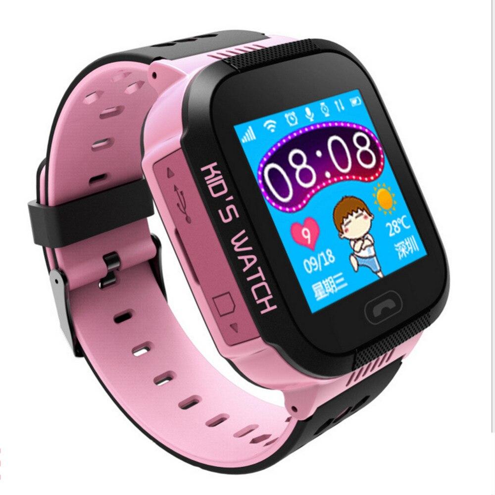 Girl Safe Smart Watch waterproof SOS Call Location Finder Locator Tracker for boy Children Anti Lost