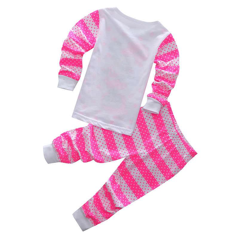 Kinder Baby Pyjamas Set Kleinkind Jungen Minnie Mickey Pijamas Langarm Cartoon Kleidung Mädchen Pyjamas Set Tops Lange Hose Nachtwäsche