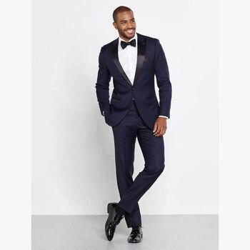 2018 White Paisley Tuxedos Groomsmen Wedding Suits For Men British Style Custom Made Mens Suit Slim Fit Best Man Blazer 2 Piece
