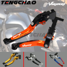For Honda XL1000 Varadero ABS 1999-2013 CNC Motorcycle Foldable Extending Brake Clutch Levers And Moto 170mm Lever 2000 2001 цена в Москве и Питере