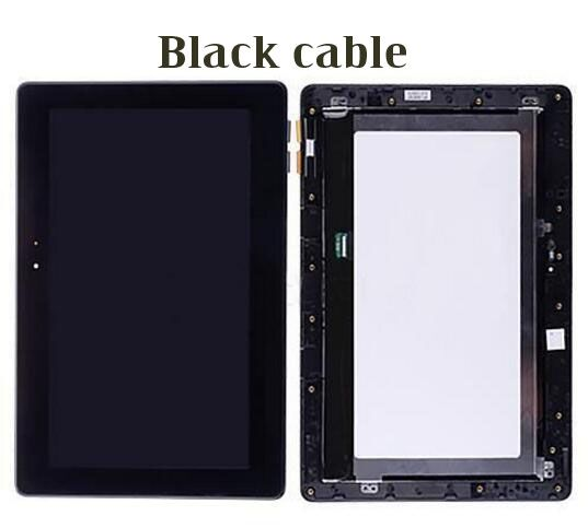 For ASUS Transformer Book T100 T100TA LCD Display Screen touch digitizer glass Assembly Black cable принтер hp laserjet enterprise 500 color m553dn b5l25a цветной а4 38ppm 1200x1200dpi 1024mb ethernet usb