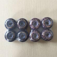Calidad 4 unids/set 52mm 101A Cubierta para Ruedas de skate Ruedas de Skate bordo de DOBLE balancín Patines Agresivos De Rodas Skate
