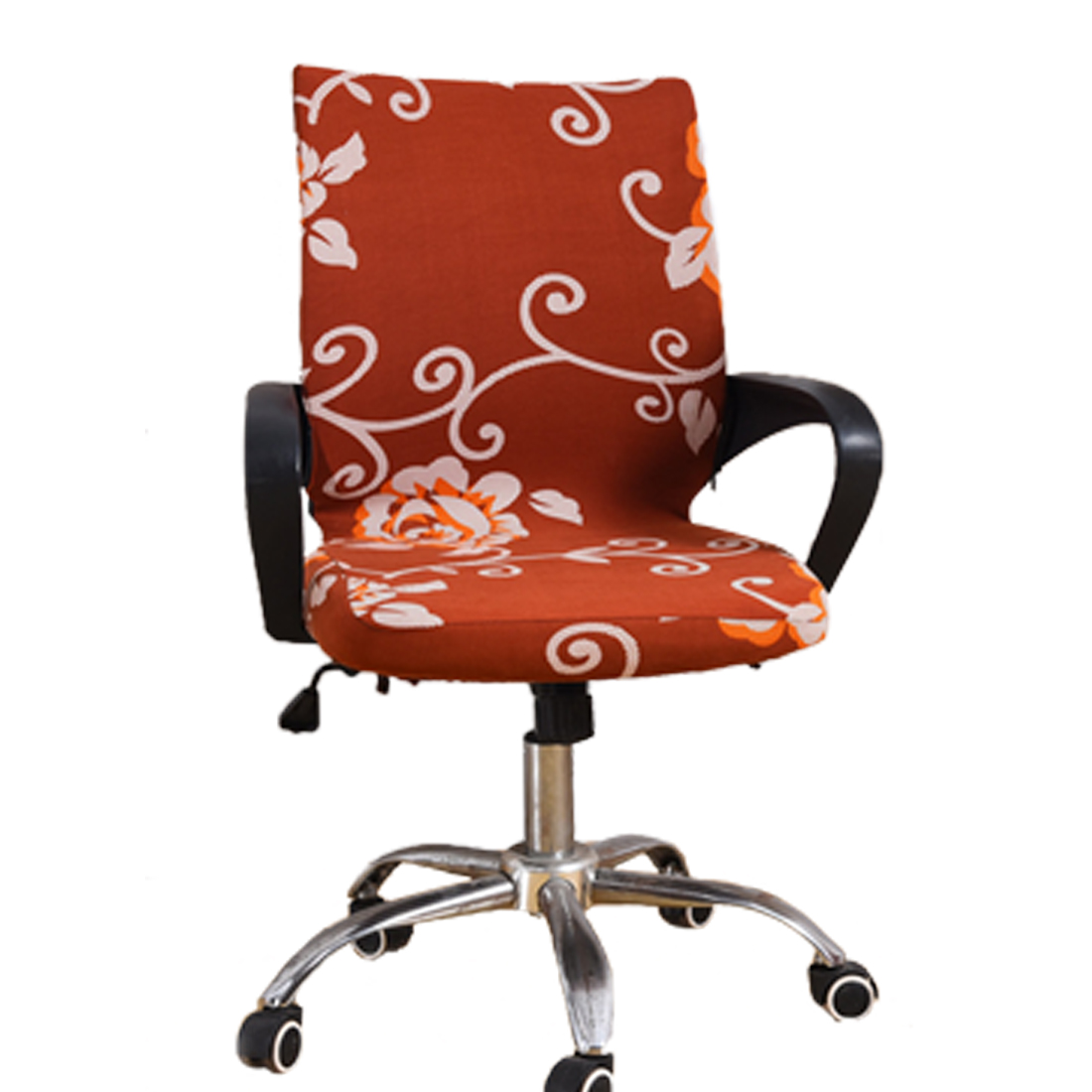 6 Pattern Stretch Elastic Dining Seat Cover Rotating