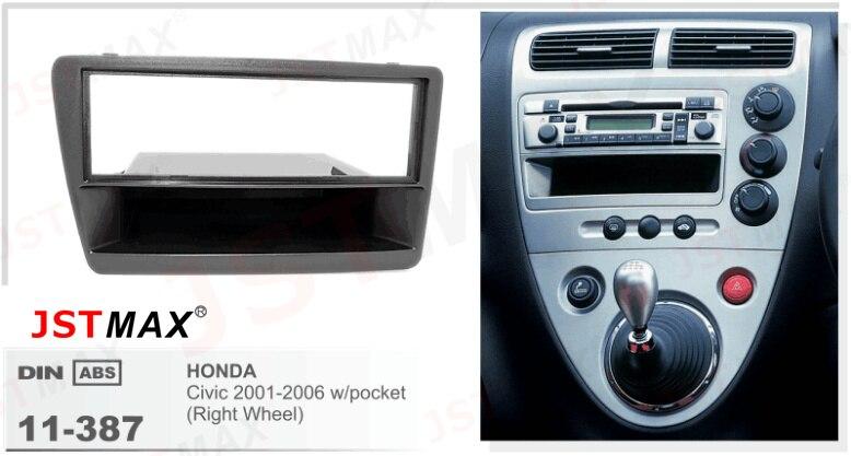Jstmax Car Dvd Cd Radio Player Fascia Face Panel For Honda Civic W Rhaliexpress: 2006 Honda Civic Radio Panel At Gmaili.net