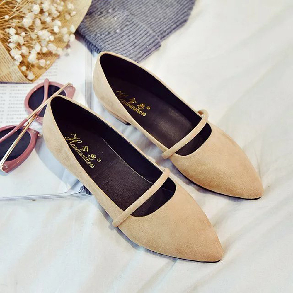 Ulrica 2017 High Quality Fashion Women Casual Comfortable Pointed Toe Rubber Women Flat Shoe Flats shoes for women zapatos mujer 2017 fashion women shoes woman flats high quality casual comfortable pointed toe rubber women flat shoes plus size 35 42 s097