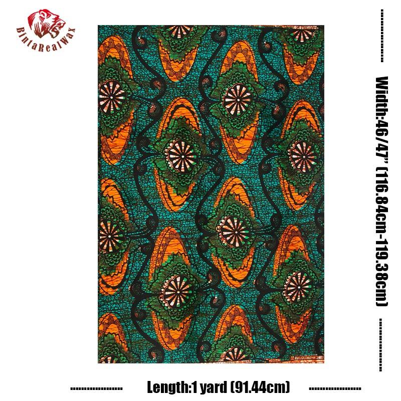 Ankara Fabric African Real Wax Print 100 Cotton High Quality Veritable Wax Real Wax Prints African