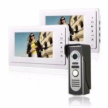 """7"""" TFT Color Video door phone Intercom Doorbell System Kit IR Camera Doorphone Monitor Speakerphone Intercom"""