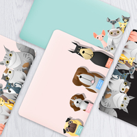 New Animal Matte Hard Case For Apple Mac Book Air 13 Case Fashion Women Men Protective