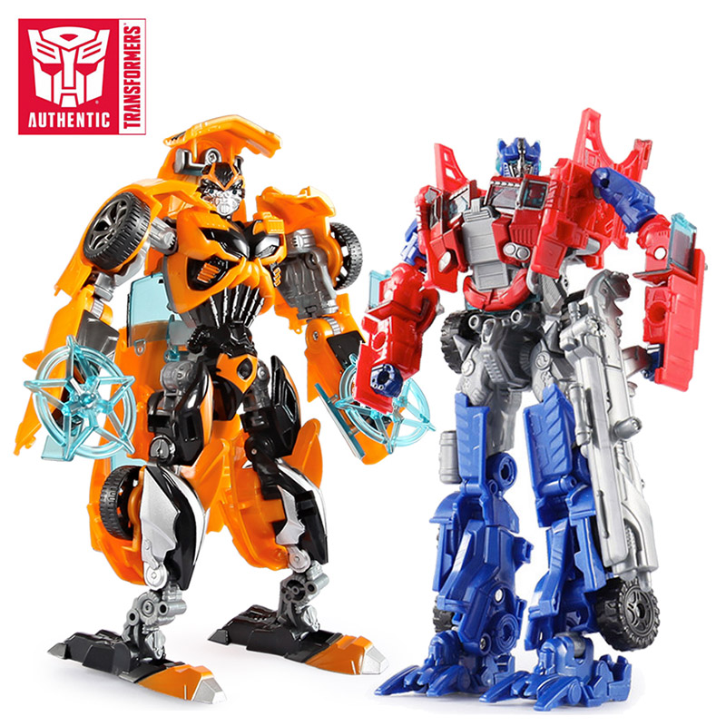 19cm Transformers Bumblebee Optimus Prime Megatron Decepticons Jazz Car Robot Action Figure Christmas Gift Toys For Children Boy
